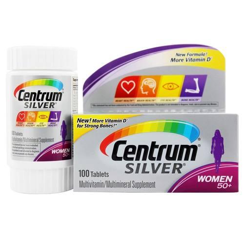Центрум Силвер Вумен - витамины для женщин