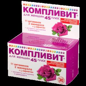 Компливит - витамины для женщин