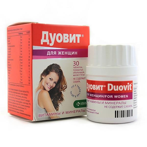 Дуовит - витамины для женщин