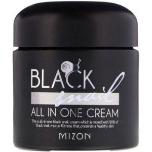 улиточный крем Black Snail от Mizon Mizon.